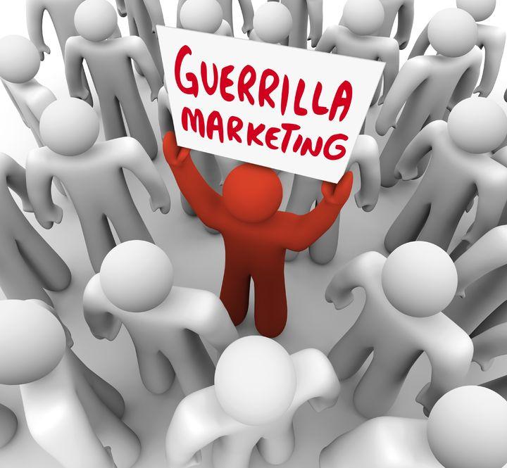 Guerrilla Marketing Sign