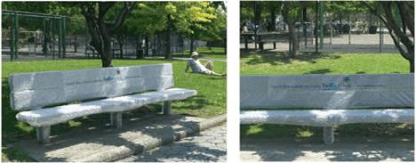 FedEx Bubble Wrap Bench