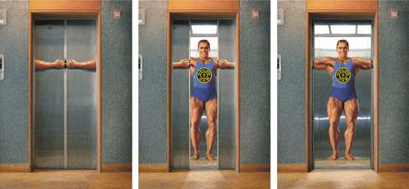 Gold's Gym Elevator